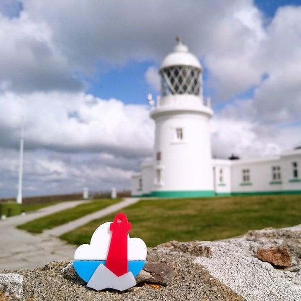 Image of Lighthouse Brooch