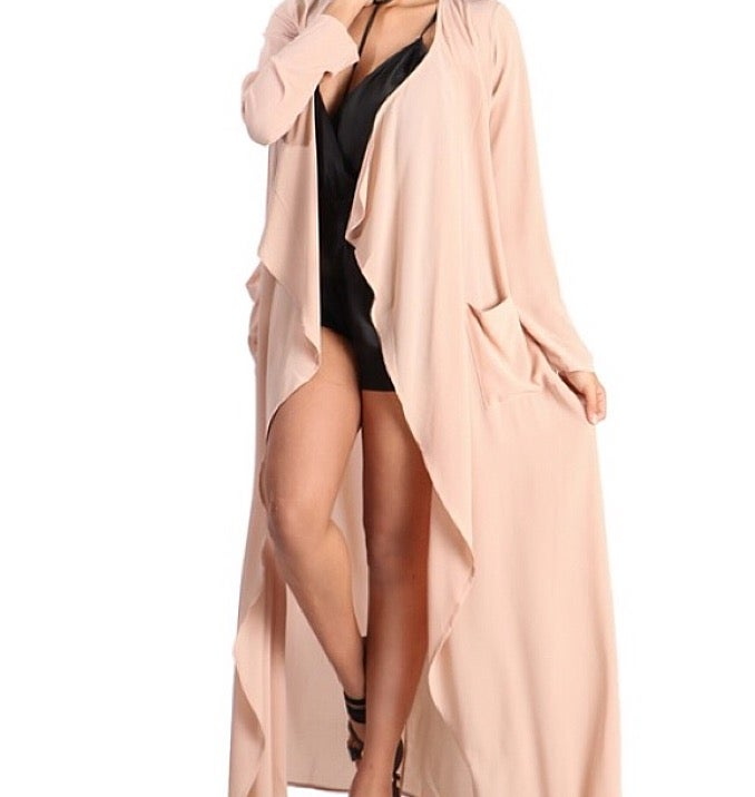 Image of Nude trench