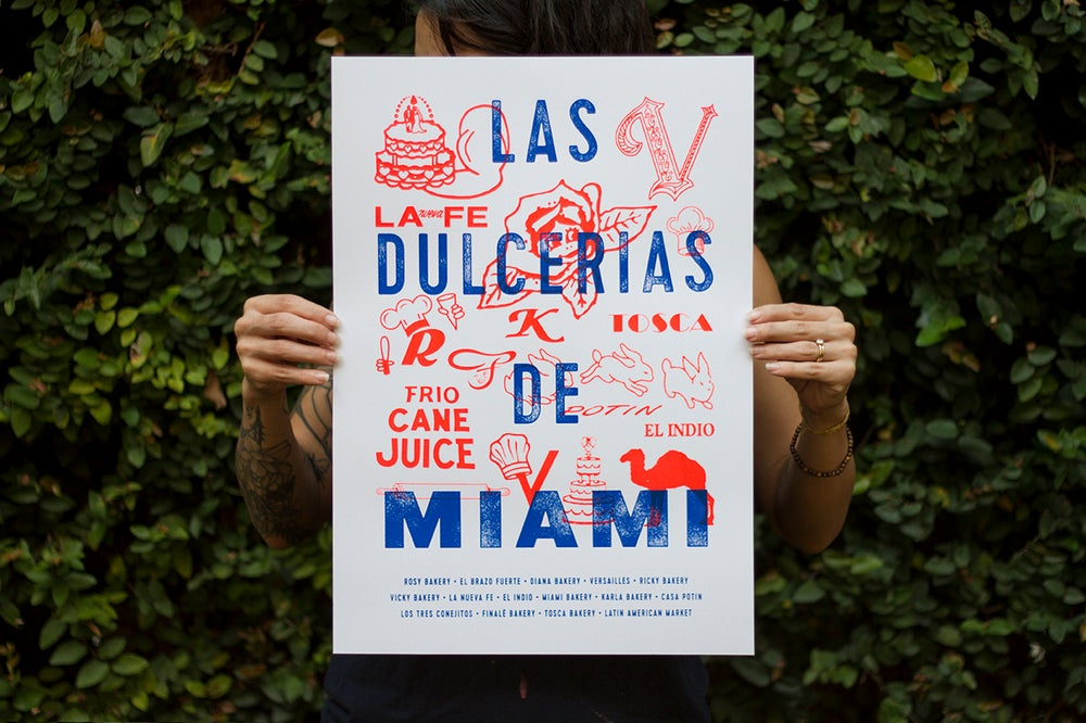 Image of Bakeries of Miami Print