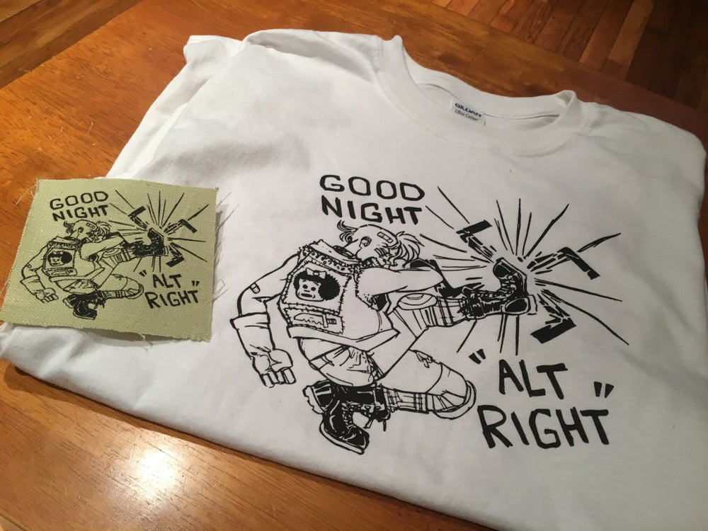 Image of GOOD NIGHT ALT RIGHT (patch)