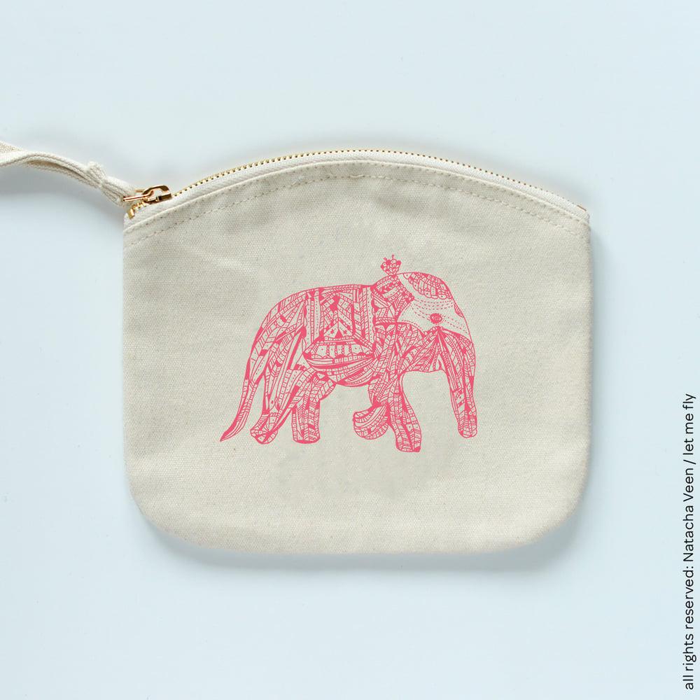 Image of Trousse *Pink elephant*