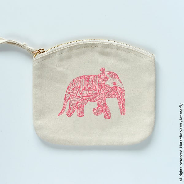 Image of Trousse *Pink elephant*