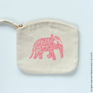 Image of Trousse *Pink elephant*_Small