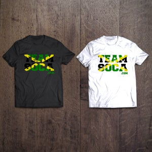 Image of Team Soca Island T Shirts - Jamaica