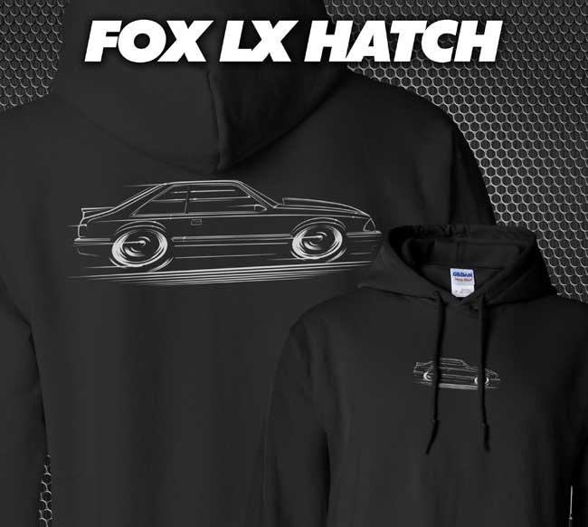 Image of Fox LX Hatch T-Shirts Hoodies Banners