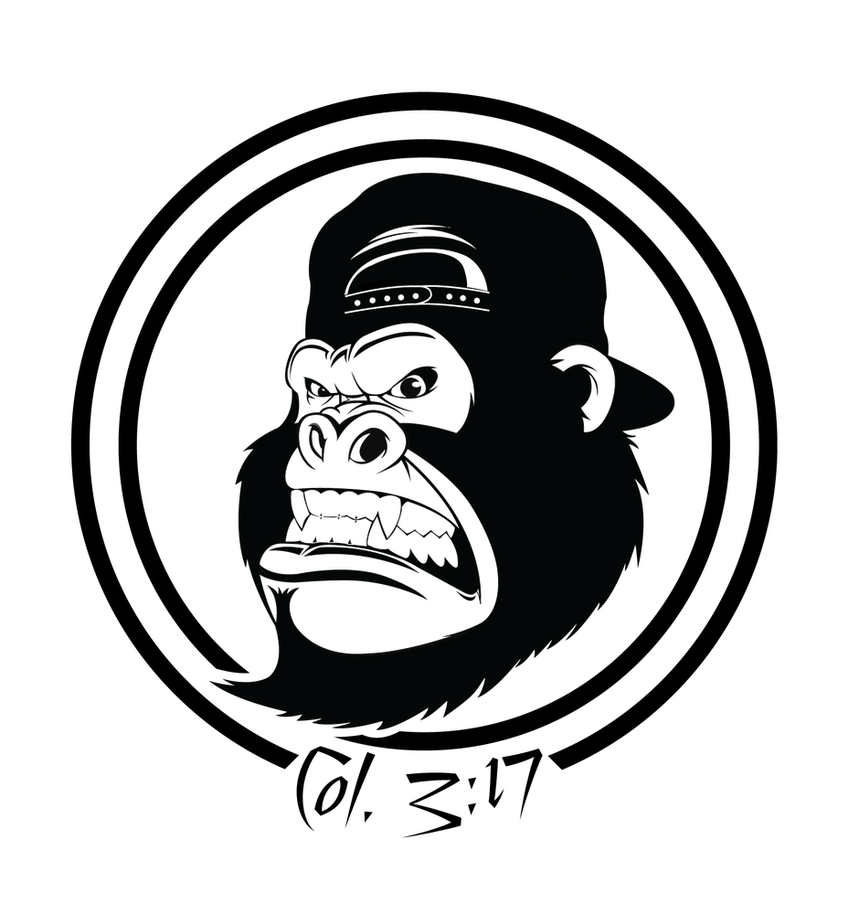 Image of GoRilla317 Logo Vinyl Decal