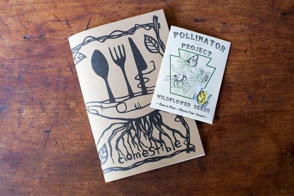 Image of Comestible Issue 5 + Pollinator Project Seed Pack