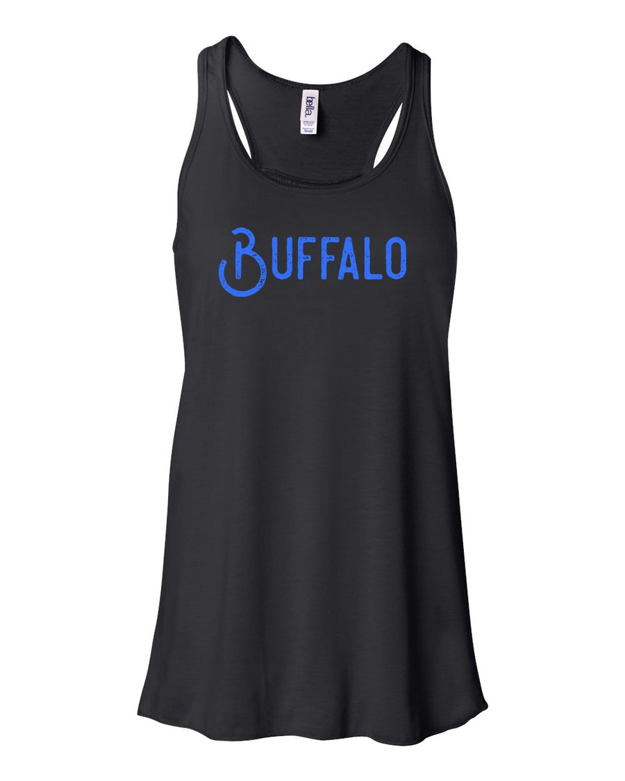 "Image of ""Buffalo"" Ladies Tank - Black"