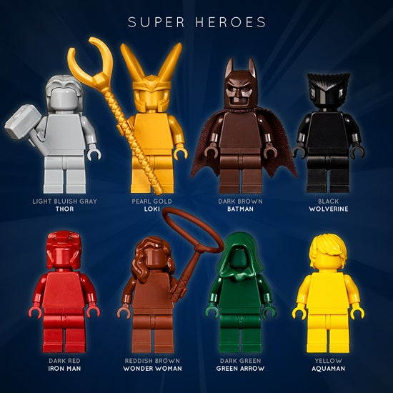 Image of SUPER HEROES