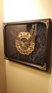 Image of 14x16 large bat shadowbox