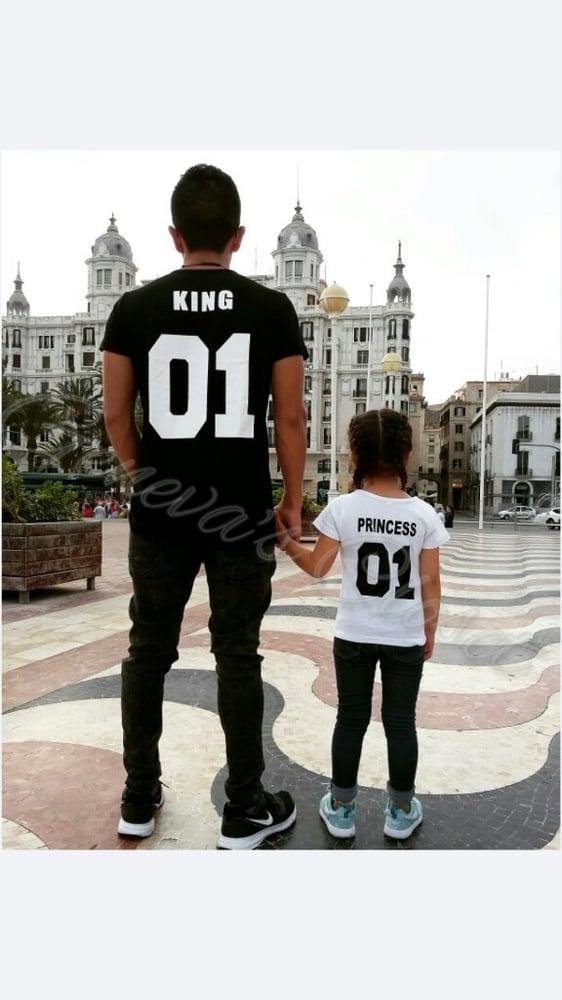 Image of King and prince T-shirts