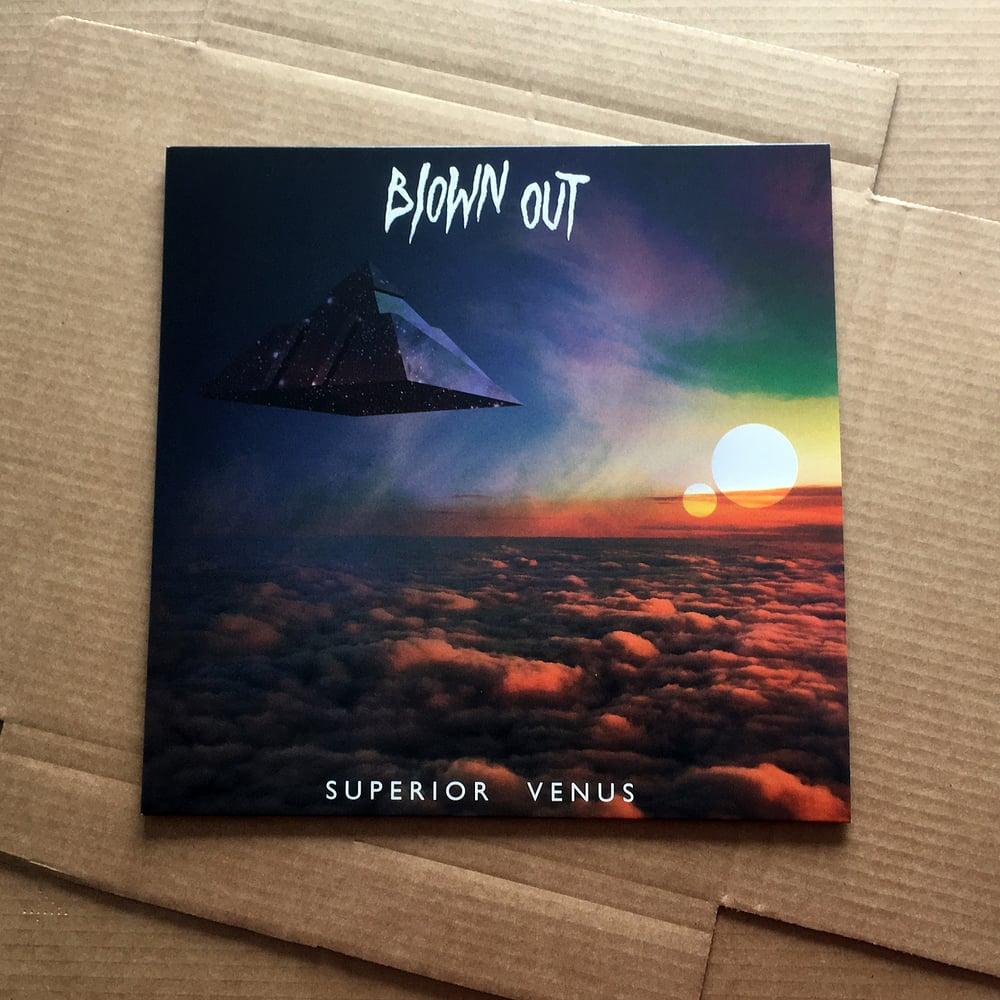 BLOWN OUT 'Superior Venus' Neon Orange Coloured Vinyl LP