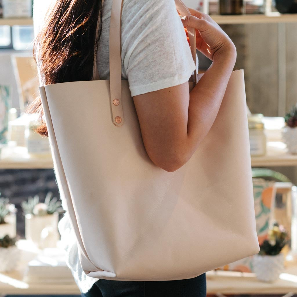 Image of Vegetable Tanned Tote