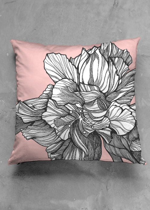Image of HYBRID HIBISCUS PILLOW