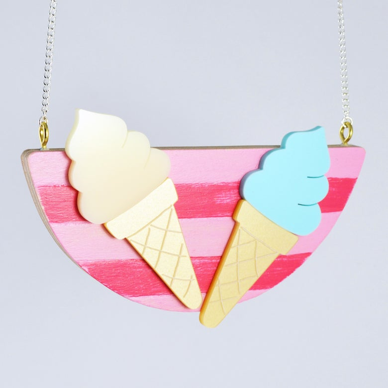 Image of Ice Cream Necklace
