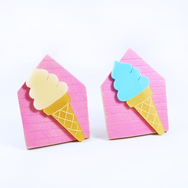 Image of Ice Cream Brooch