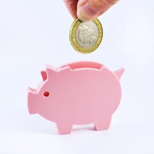 Image of Piggy Bank Brooch