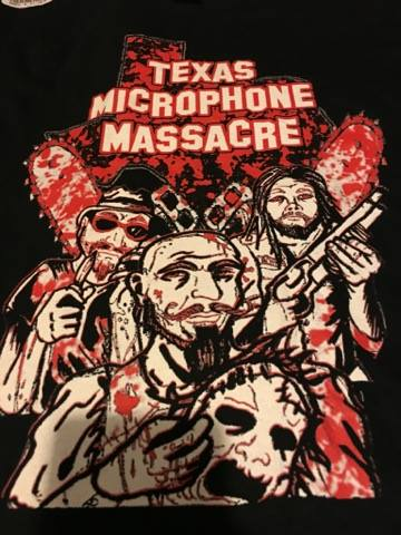 "Image of ""CHAINSAW MASSACRE"" SHIRT"