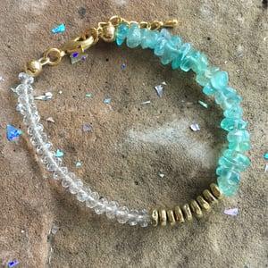 Image of Wish Bracelet - Aquamarine BACK SOON