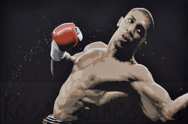 Image of 'RAW POWER' (3x2ft canvas print)