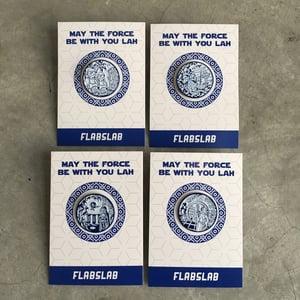 Image of Set of 4 East x West enamel pins
