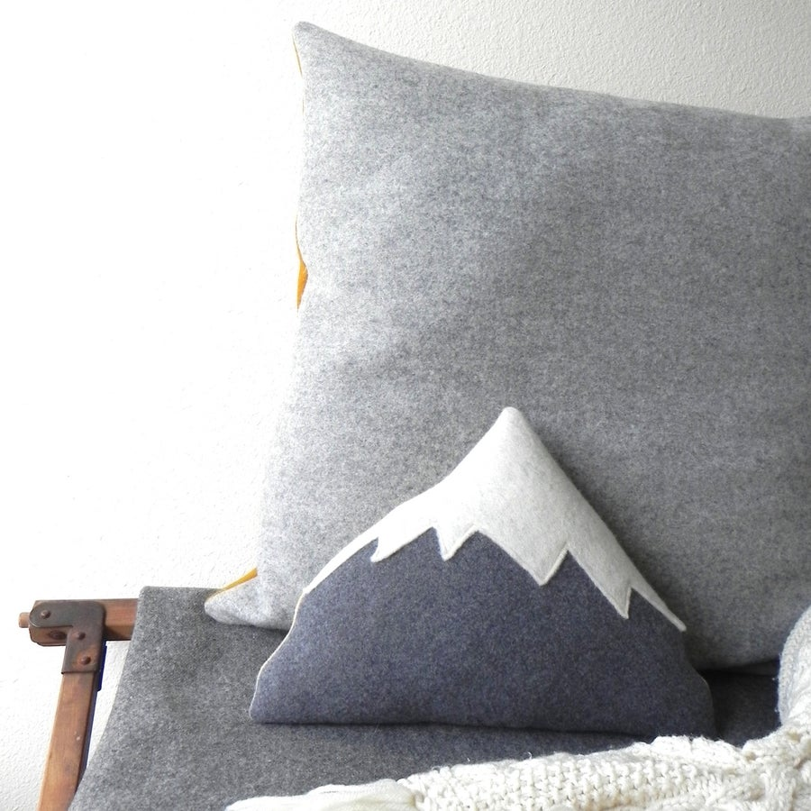 Image of Crested Butte Mountain Pillow