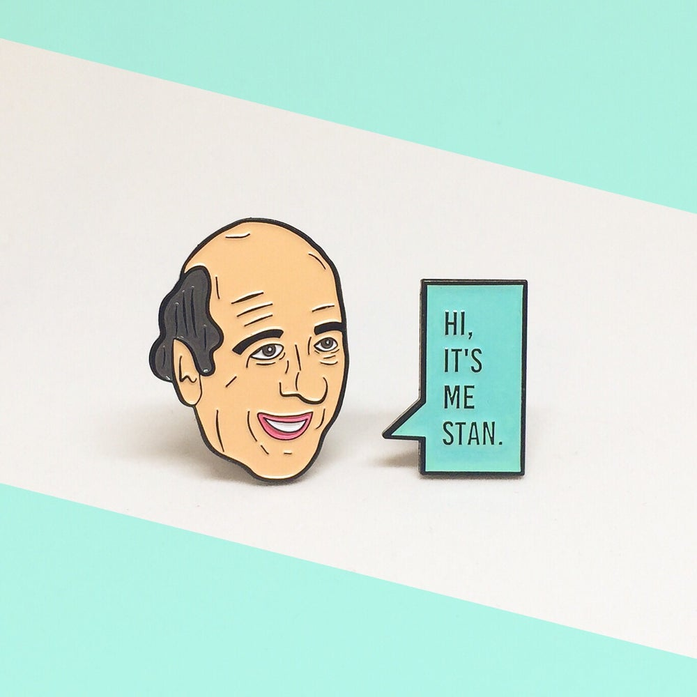 Image of Stan Enamel Pin Set!
