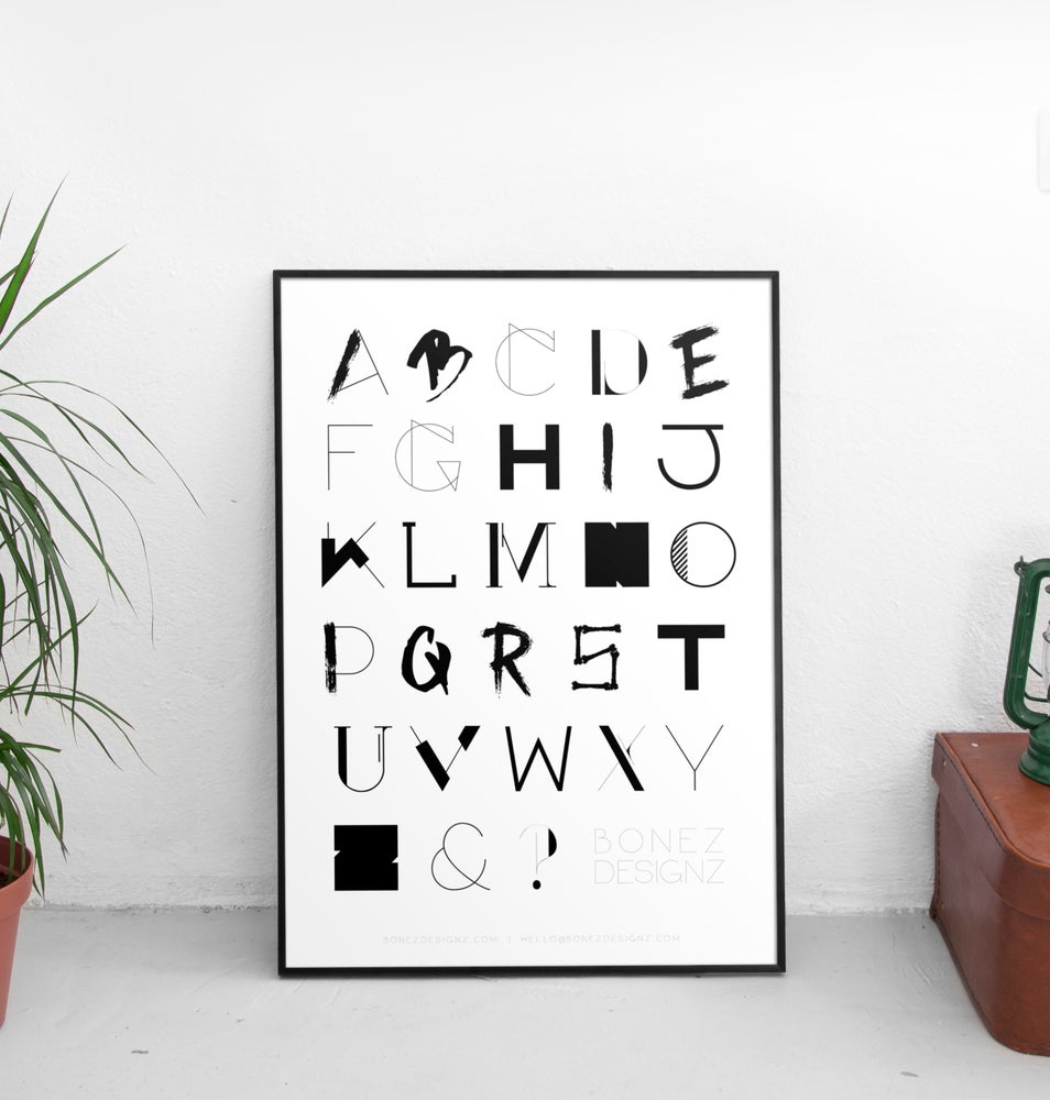 Image of Alphabet Print