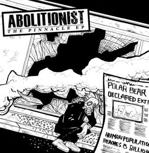 "Image of DKR016 - Abolitionist - The Pinnacle EP 7"" BLUE or BLACK Vinyl"
