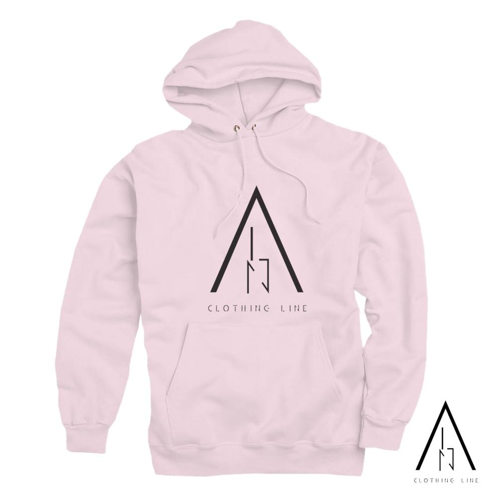 Image of Unisex Pink ALN Hoodie