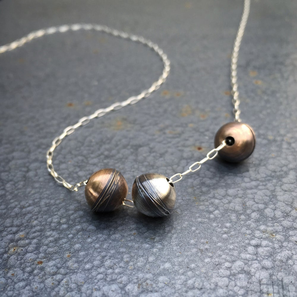 Image of Triple Pod Necklace