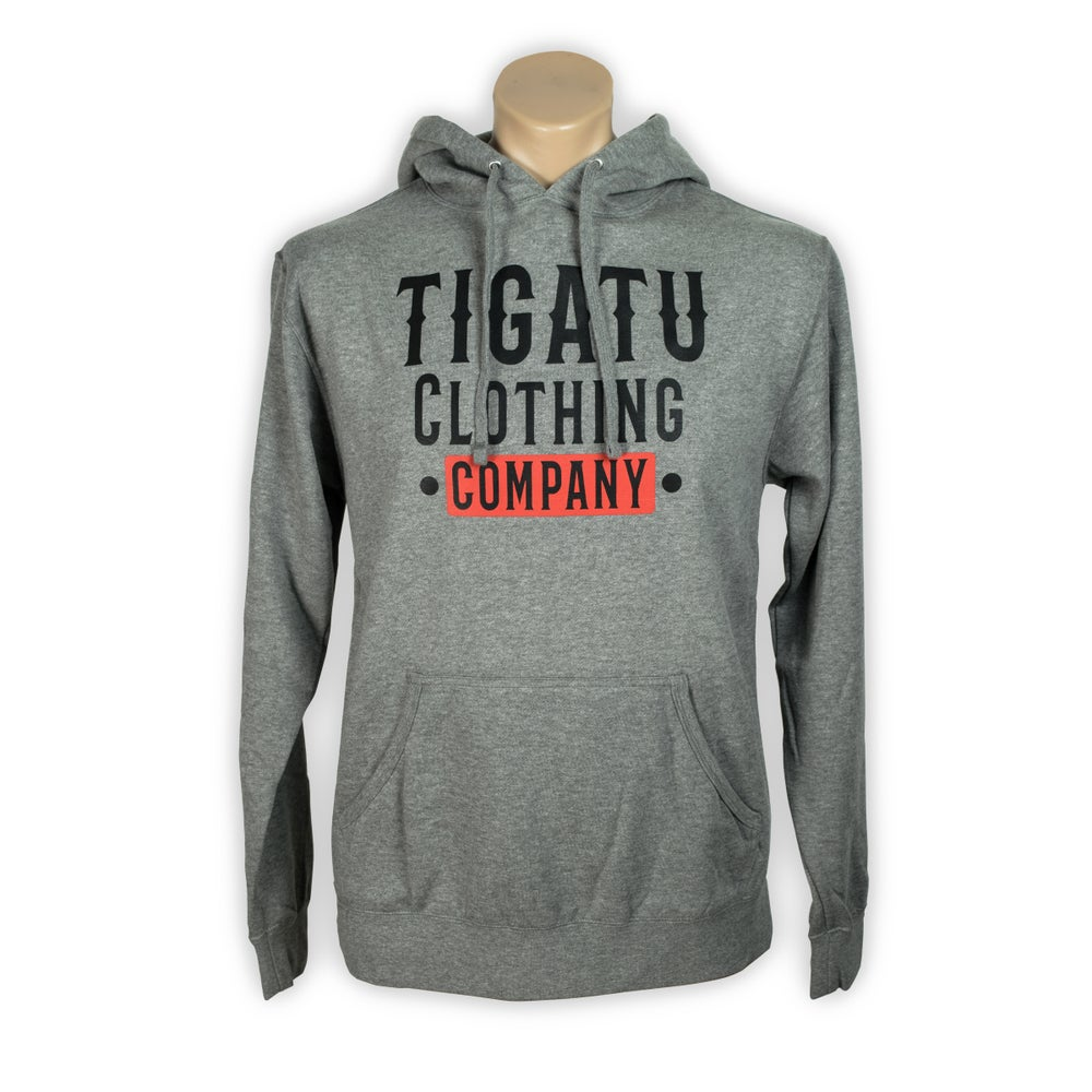 "Image of Men's ""Western"" Lightweight Hoodie - Grey"