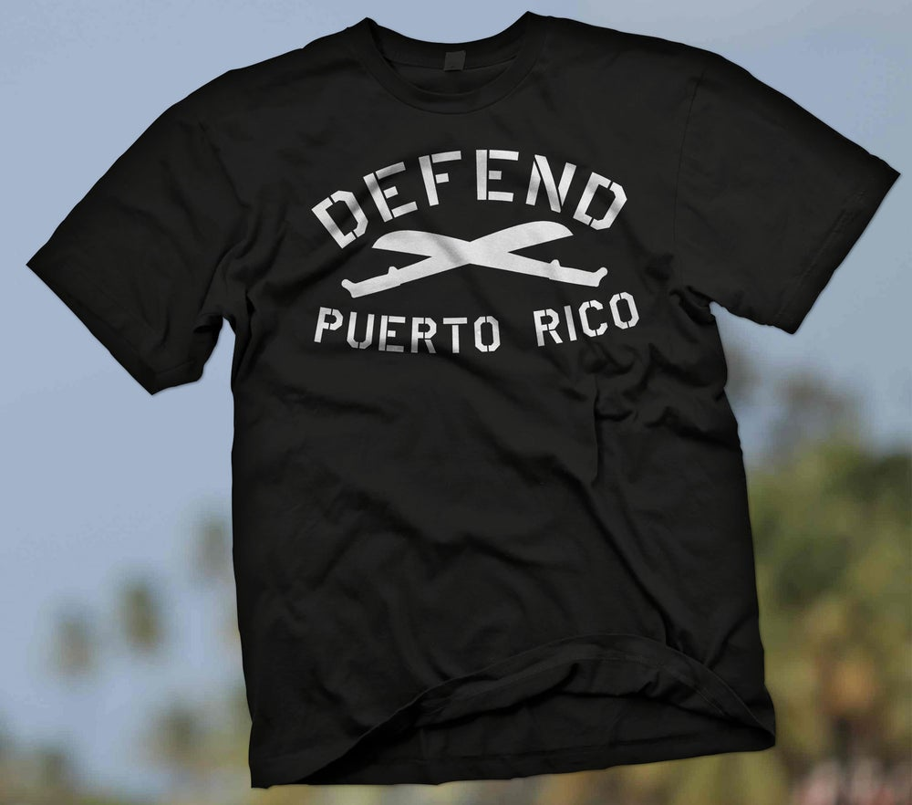 Image of DEFEND PR BLACK TEE