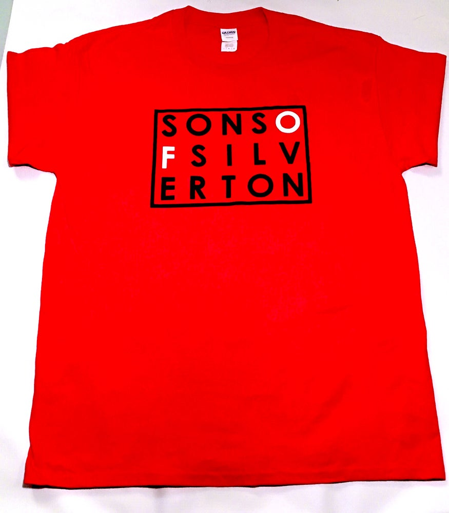 Image of SOS Cotton Tee (Red)