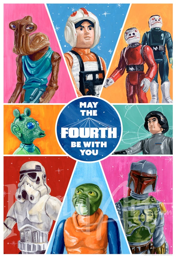 Image of 2017 May the Fourth Be With You print