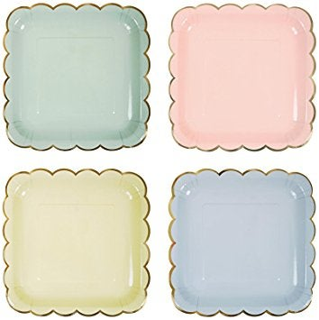 Image of Pastel Plates - Large