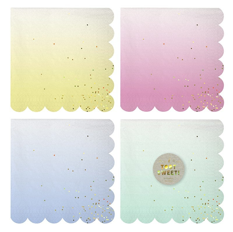 Image of Ombre Napkins - Small