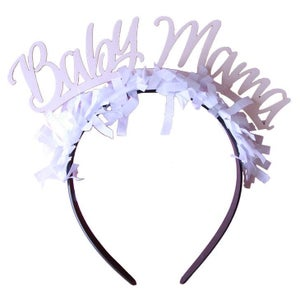 Image of Party Up Top Headband:  Baby Mama
