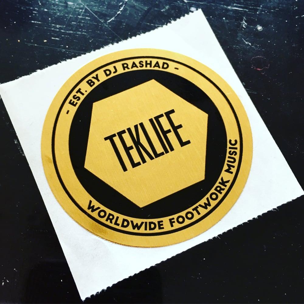 Image of Foil Gold sticker