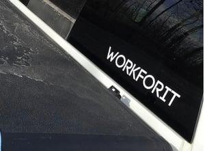 Image of WORKFORIT Decal