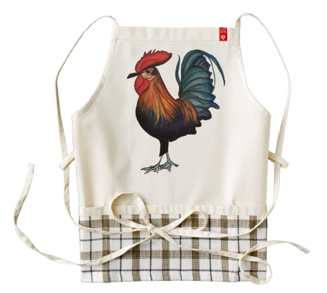 Image of Rooster Apron