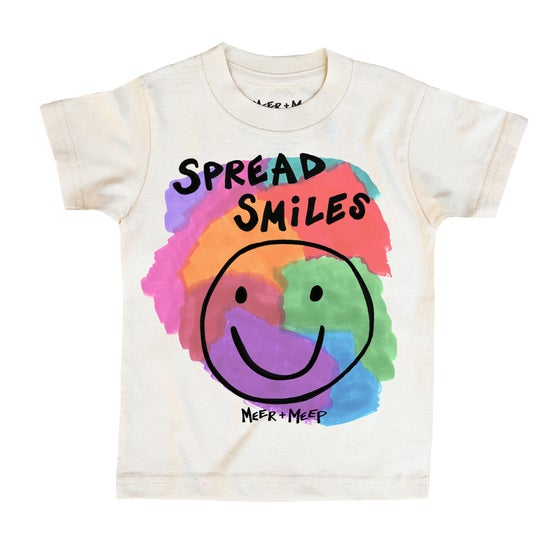 Image of SPREAD SMILES COLOR TEE
