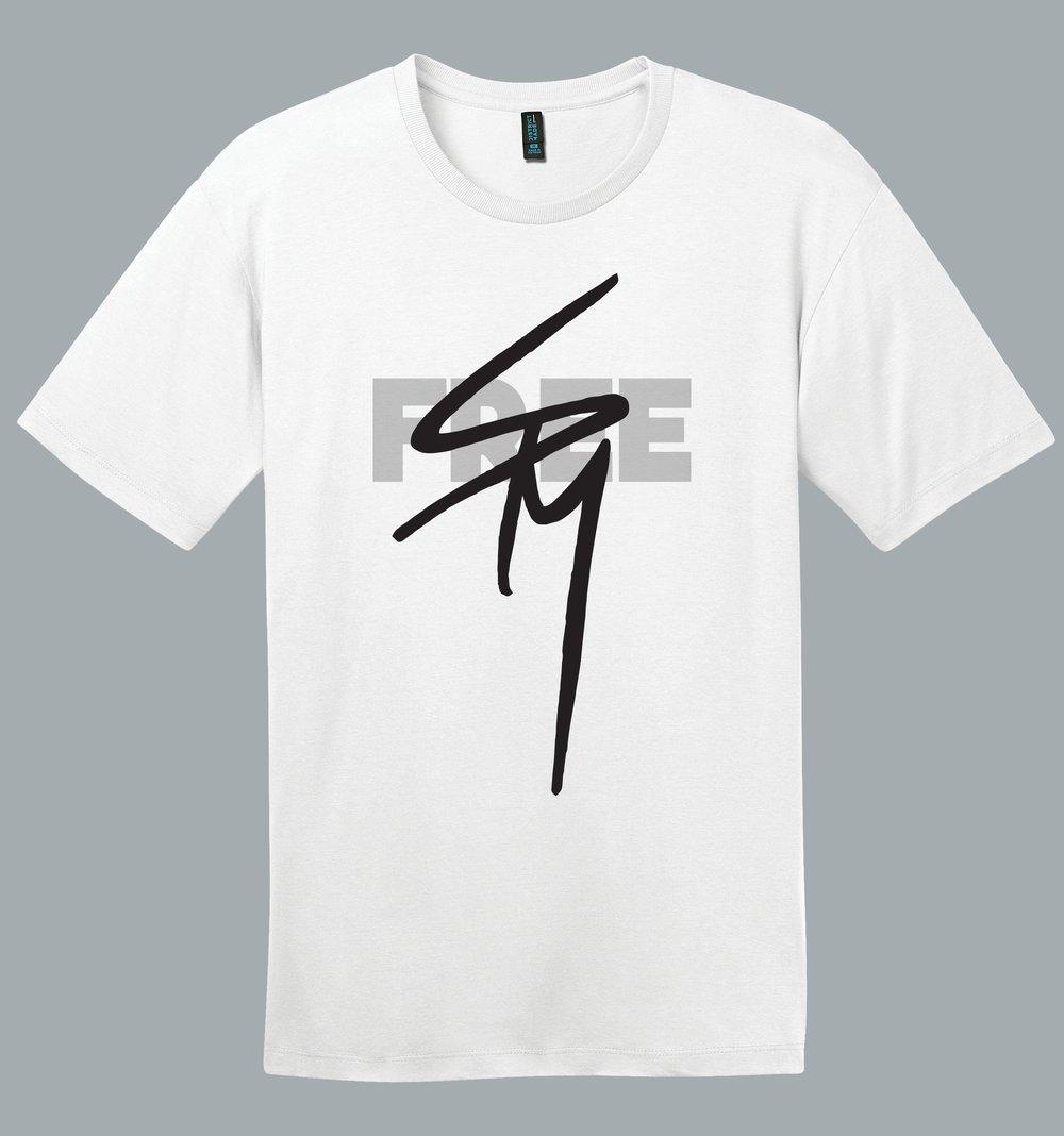 Image of FREE SPM white tshirt