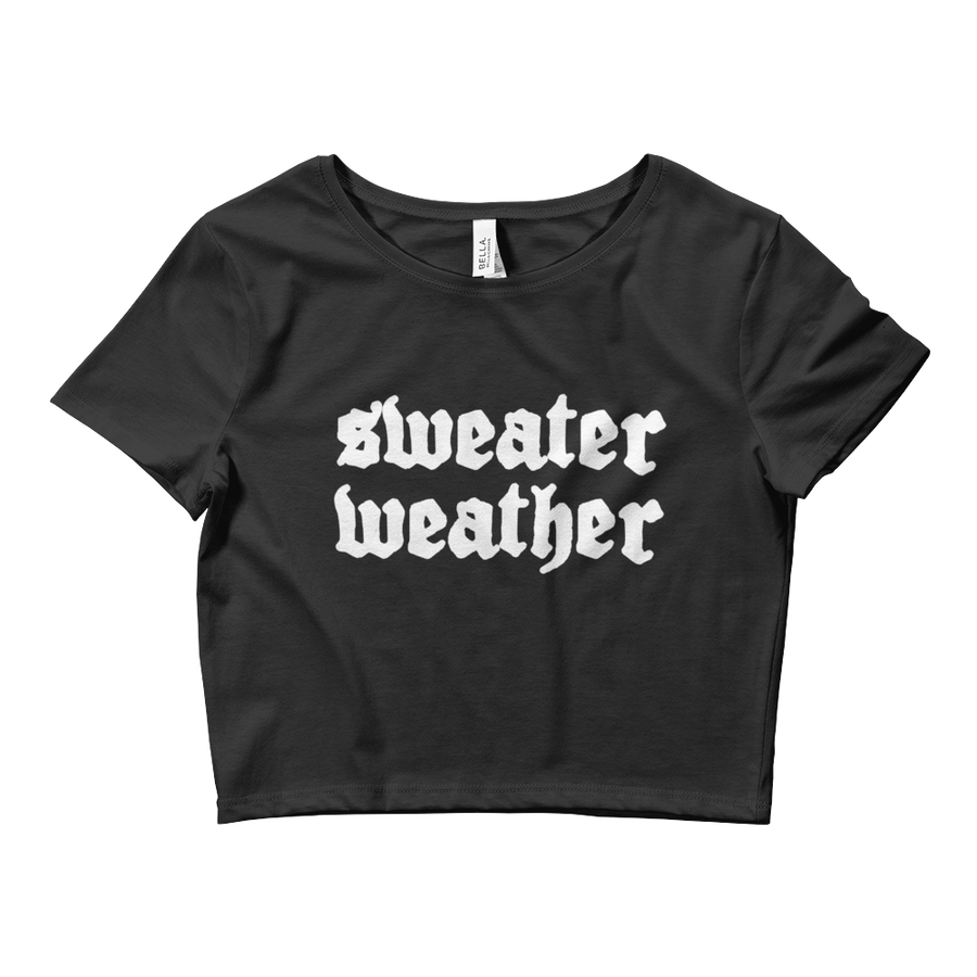 Image of Sweater Weather Crop Top