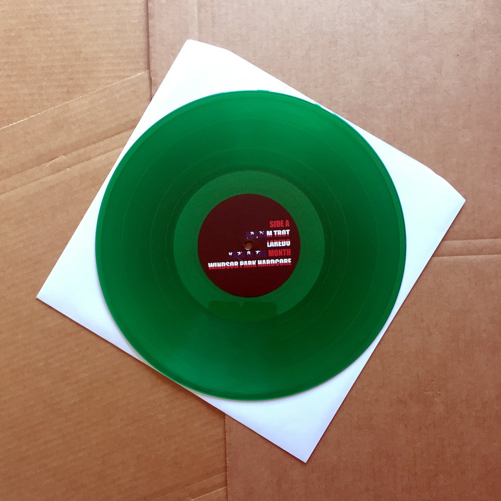 USA/MEXICO 'Laredo' Green Vinyl LP