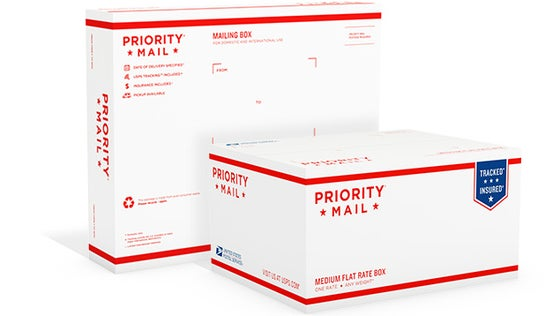 Image of Priority mail add on