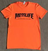 Image of MESSLIFE - THRASHER TEE - orange/yella/pink!