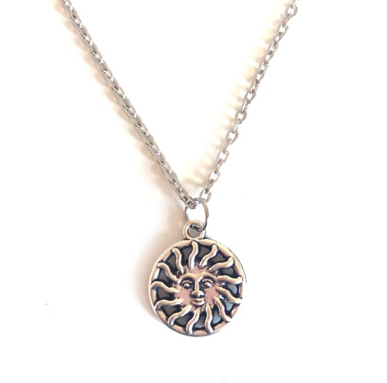 Image of Celestial Sun Necklace