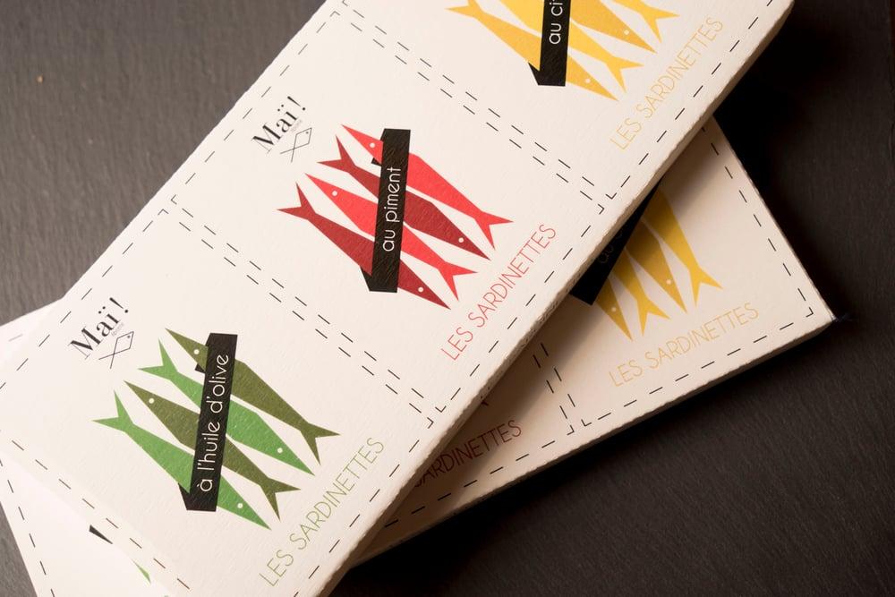 Image of Coffret cadeaux de sardinettes