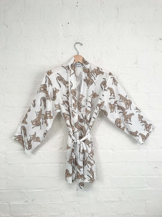 Image of SALE Sam & Lavi Silky Cheetah Print Wrap